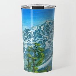 Himalaya mountains Travel Mug