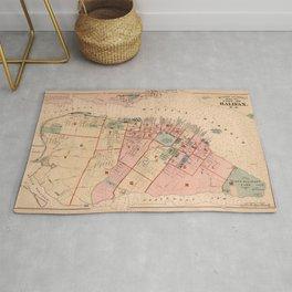 Map of Halifax 1878 Rug