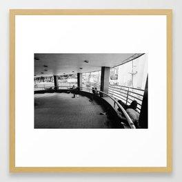 Hong Kong Siesta Framed Art Print