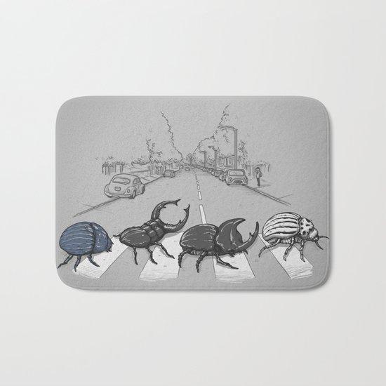 The Beetles Bath Mat