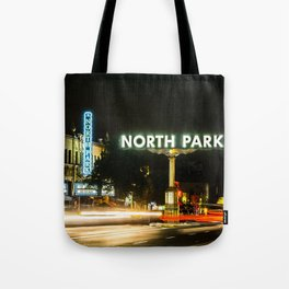 North Park (San Diego) Sign - SD Signs Series #1 Tote Bag
