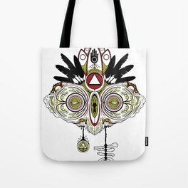 Death Mask 2 Tote Bag