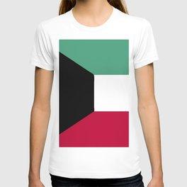 Kuwait flag emblem T-shirt
