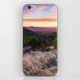 Sunset Near Green Valley, Arizona iPhone Skin