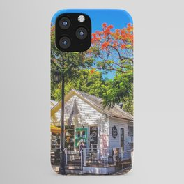 The Six Toed Cat Cafe iPhone Case