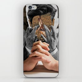 Keep counting thoughts iPhone Skin