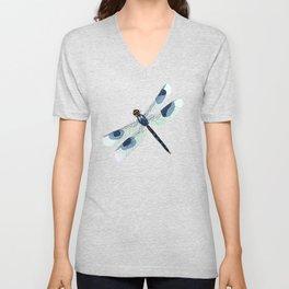 Summer Dragonfly Unisex V-Neck
