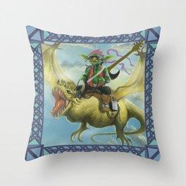 Goblin's Song Throw Pillow
