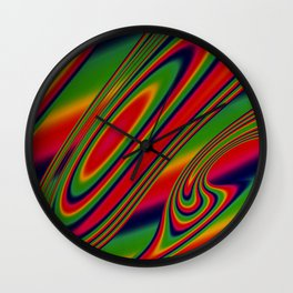 Candy Drop Wall Clock