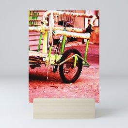 Urban Bike Trolley Mini Art Print