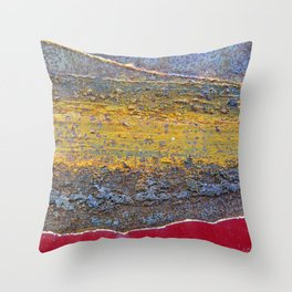 Colors of Rust 824 / ROSTart Throw Pillow