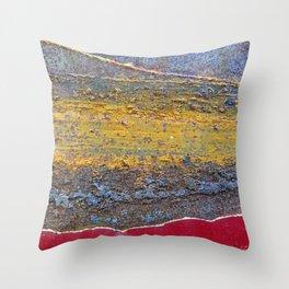 Colors of Rust 824 / ROSTart Throw Pillow