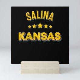 Salina Kansas Mini Art Print