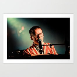 Alexis Taylor of Hot Chip Art Print