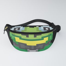 Frog N' Pixel Frog Pixel Gamers Gift Fanny Pack