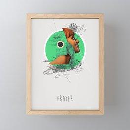 Prayer Framed Mini Art Print