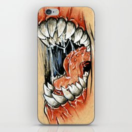Spit and Slobber iPhone Skin