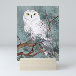 Snowy Mini Art Print