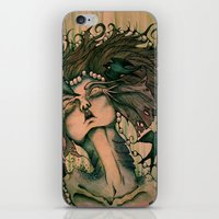 siren iPhone & iPod Skins featuring Siren by JenniferLove