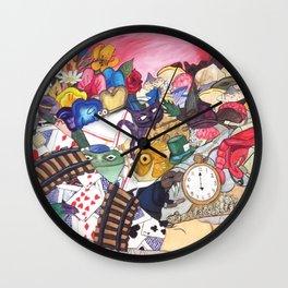 Alice's Objects Wall Clock