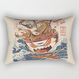 The Great Ramen off Kanagawa Rectangular Pillow