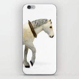 Wooden Plow Horse iPhone Skin
