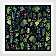 green garden! fresh Art Print