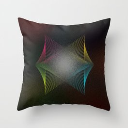 Geometrique 003 Throw Pillow