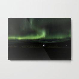 aurora borealis - 8 Metal Print