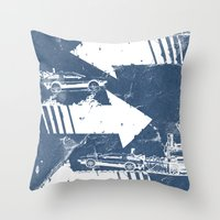 Back to the Future Minimalist Poster Throw Pillow