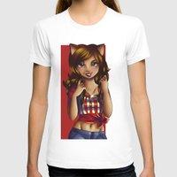 jessica lange T-shirts featuring Jessica by JupiterBlossem