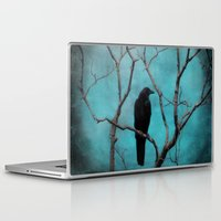 aqua Laptop & iPad Skins featuring Aqua by The Strange Days Of Gothicrow