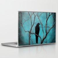 aqua Laptop & iPad Skins featuring Aqua by The Strange Days Of Gothicrow