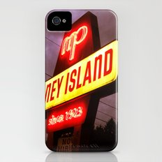Small Town Coney Island iPhone (4, 4s) Slim Case
