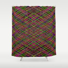 Psychedelic Highway Shower Curtain