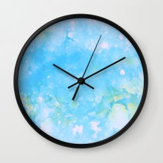 Cloud Song Wall Clock