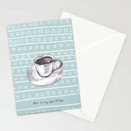 My Special Tea Stationery Cards