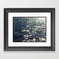 Mighty Hudson Framed Art Print