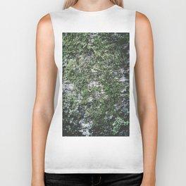 Moss covered tree Biker Tank