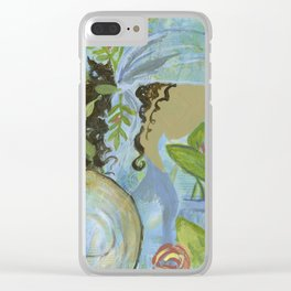 Warrior Spirit Elizabeth Clear iPhone Case
