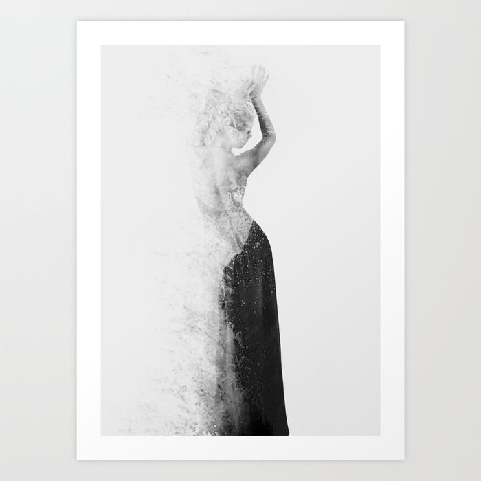 Sunday's Society6 | Double exposure photography art print