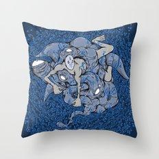 In deep Throw Pillow