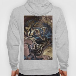 Liquid Gold Marble Hoody