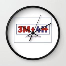 unPresidented Wall Clock