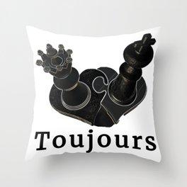 Toujours Throw Pillow