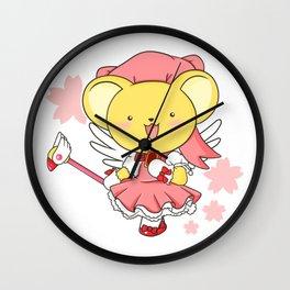 cardcaptor kerochan Wall Clock