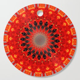 RED CIRCLE Cutting Board