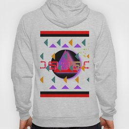 TRIANGLES CIRCLE GEOMETRIC SYMBOLS Hoody