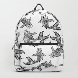 Koi Fish Pattern Backpack