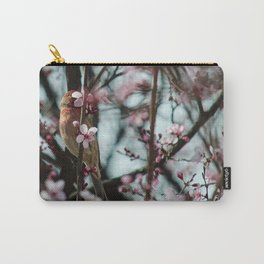 Peek-A-Boo - Spring Finch Carry-All Pouch